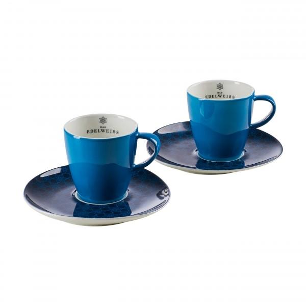 """""""EDELWEISS"""" - 2er Kaffee Häferl Set"""