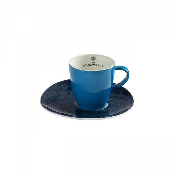 """""""EDELWEISS"""" - 1er Kaffee Häferl Set"""