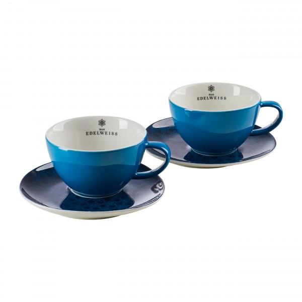 """""""EDELWEISS"""" - 2er Cappuccino Set"""