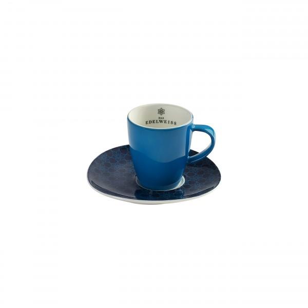 """""""EDELWEISS """" - 1er Espresso Set"""